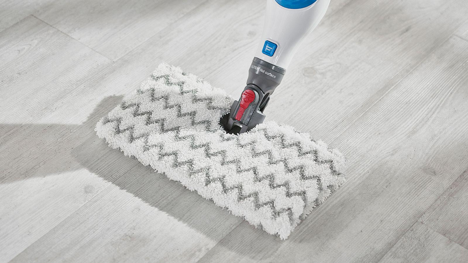 Shark Klik n' Flip Steam Mop with Dirt Grip Pads