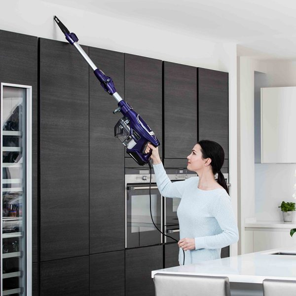 High Up Cleaning with Shark DuoClean Corded Stick Vacuum Cleaner